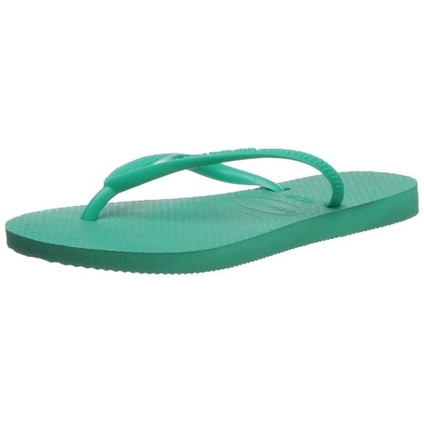 570700aea385 Shop Havaianas Girls slim Slip On Thong Flip Flops - Free Shipping On  Orders Over  45 - Overstock - 21651909