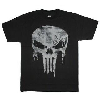 Marvel Comics T-Shirt Men's Big & Tall The Punisher Skull Frank Castle Tee