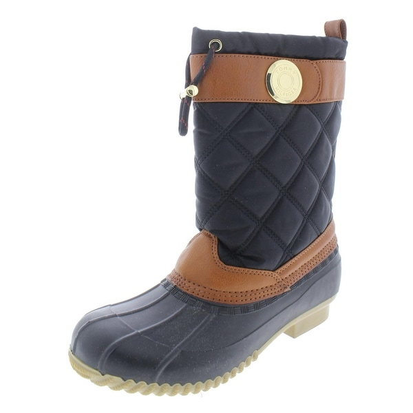 ace6b35e7f6b Shop Tommy Hilfiger Womens Ricky Rain Boots Duck Quilted - 6 Medium ...
