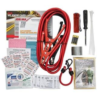 AAA 4284AAA Traveler Road Kit 64 Piece - Red