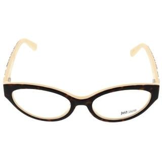 Just Cavalli JC0522/V 056 Tortoise Oval Optical Frames - 53-17-140