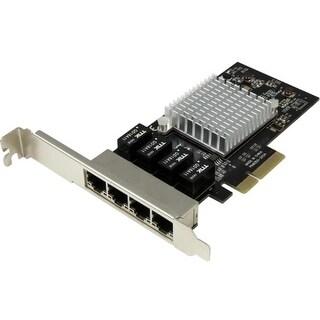 """StarTech ST4000SPEXI StarTech.com 4 Port PCI Express Gigabit Ethernet Network Card - Intel I350 NIC - Quad Port PCIe Network"