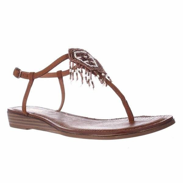 Carlos by Carlos Santana Tonalea Beaded Dreamcatcher Sandals, Tawny Tan - 7.5 us / 37.5 eu