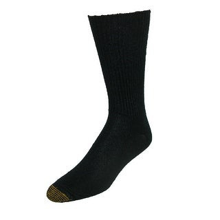 Gold Toe Men's Fluffies Soft Casual Socks (Pack of 3) - One Size