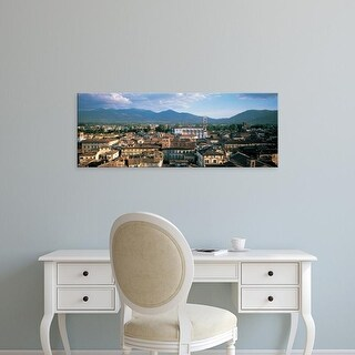 Easy Art Prints Panoramic Images's 'Italy, Tuscany, Lucca' Premium Canvas Art
