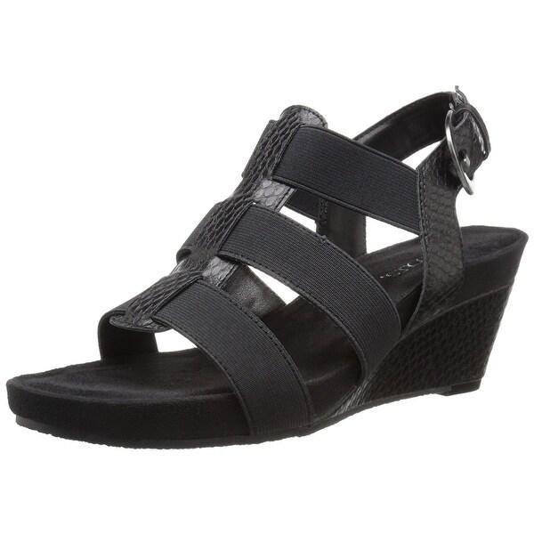 Aerosoles Womens Lightscape Open Toe Casual Platform Sandals