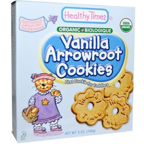 Healthy Times - Vanilla Arrowroot Cookies ( 12 - 5 OZ)