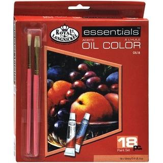 Essentials Oil Paints 12ml 18/Pkg-Assorted Colors