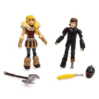 How To Train Your Dragon 2 Figure Trainer Pack: Astrid & Hiccup - multi