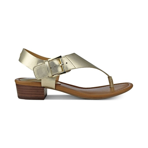 Tommy Hilfiger Womens Kitty Open Toe Casual T-Strap Sandals - 6.5