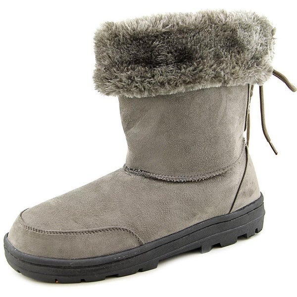 Seven Dials Womens Oriole Suede Closed Toe Ankle Cold Weather Boots