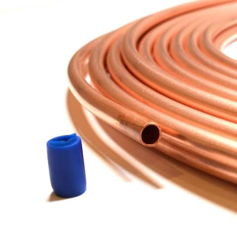 ICOOL Air Conditioner Type E Piece Insulated Copper Tube 40ft