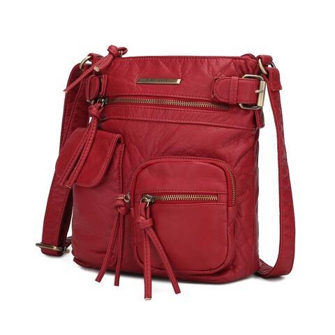 MKF Collection Vintage Stiella Crossbody Bag by Mia K.