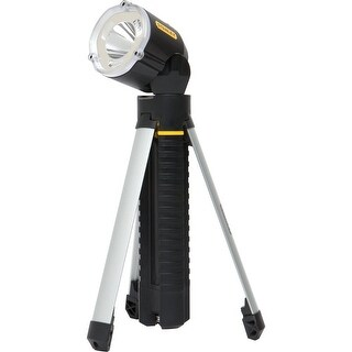 Stanley 95-112B Tri Pod Flashlight Max Life Non Slip Grip, LED 3 AA