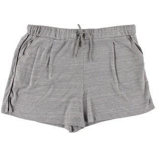 Two by Vince Camuto Womens Knit Heathered Casual Shorts - XL