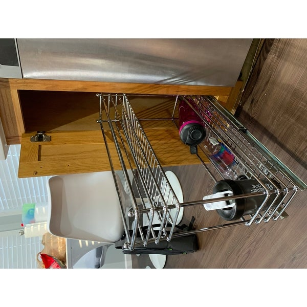 """Household Essentials Glidez Narrow 5/"""" Pull Out Drawer"""