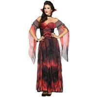 Sexy Contessa Womens Vampire Costume