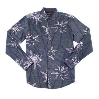 INC NEW Dark Green Mens Size Medium M Floral Print Button Down Shirt|https://ak1.ostkcdn.com/images/products/is/images/direct/dc85903f6a6bc9b7f8c9b19be33de35f4cbfc955/INC-NEW-Dark-Green-Mens-Size-Medium-M-Floral-Print-Button-Down-Shirt.jpg?impolicy=medium