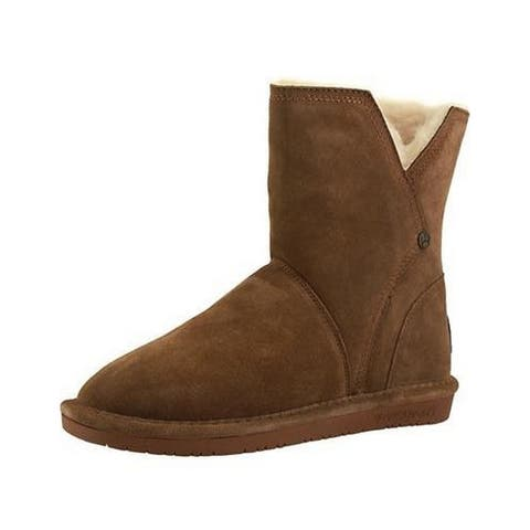 Bearpaw Casual Boots Womens Pam Pull On Lined Ankle Rubber
