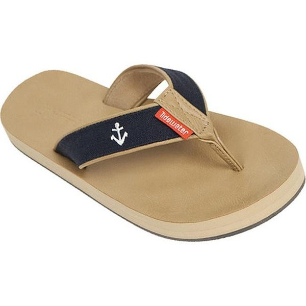 da68348dd733 Shop Tidewater Sandals Women s Fisher Flip Flop Navy White Red Anchor - Free  Shipping On Orders Over  45 - Overstock.com - 15060417