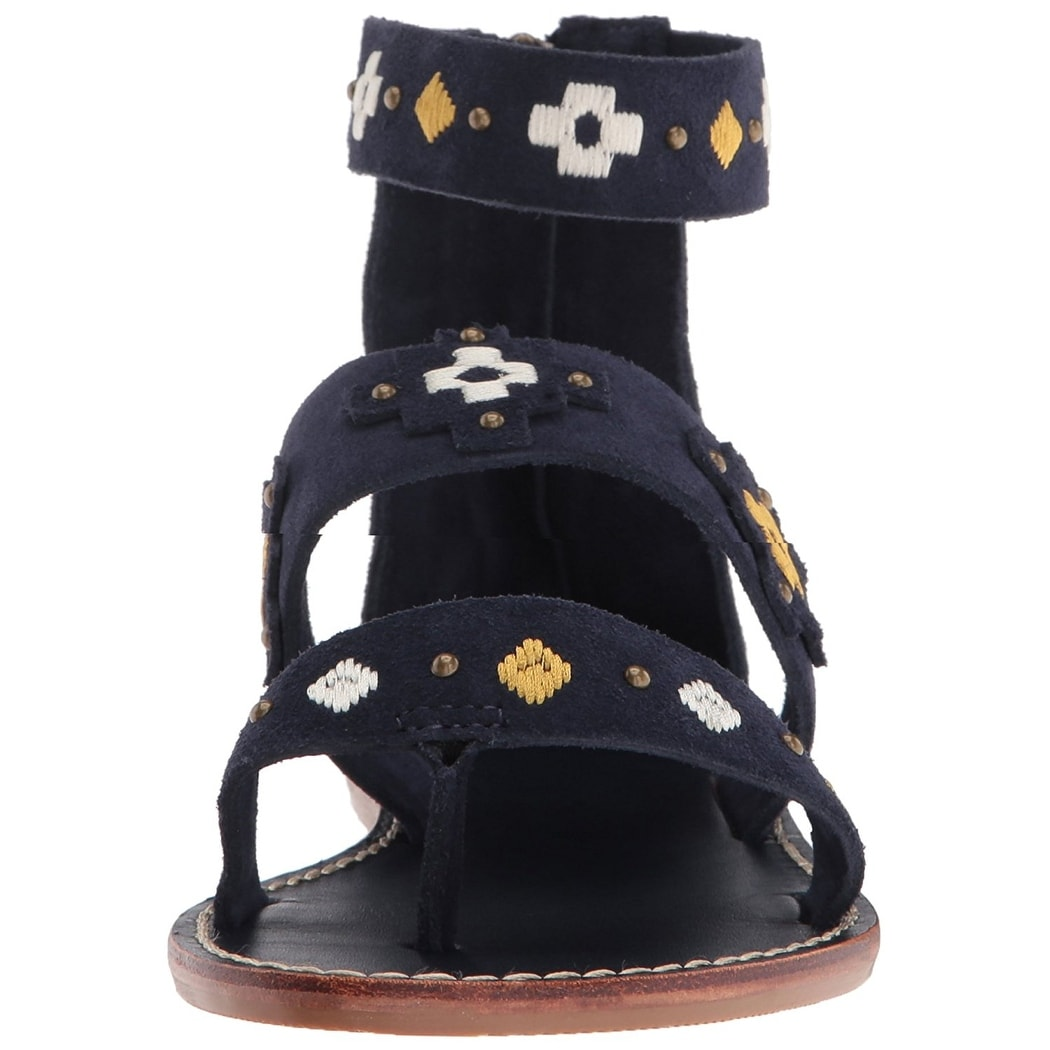 801f5d00a84 Shop Soludos Women s Embroidered Three Banded Platform Flat Sandal ...