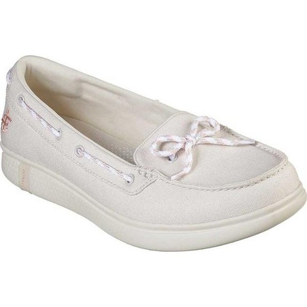 24bb553a57d Skechers Women's On the GO Glide Ultra Beach Life Boat Shoe Natural
