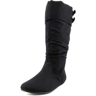 Sweet 554 Kinsey Round Toe Synthetic Mid Calf Boot