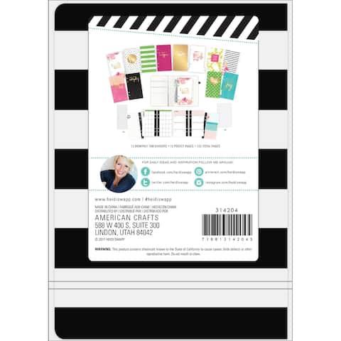 """Heidi Swapp Weekly Planner Spiral Bound 5.75""""X8""""-Stripe"""