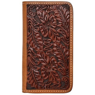 Tony Lama Cell Phone Case Leather iPhone 5/5s Logo Patch Tan