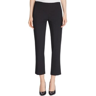 Bobeau Womens Vella Dress Pants Elastic Classic Rise