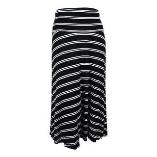 INC International Concepts Women's Striped Convertible Skirt