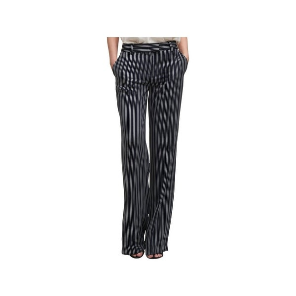 8179bc0b643e12 Shop DKNY Womens Wide Leg Pants Striped Business - Free Shipping On ...