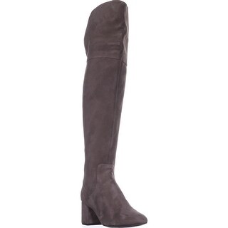 Cole Haan Raina Grand Over-The-Knee Boots, Morel Suede - 9 us