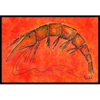 Carolines Treasures RDR2012JMAT 24 x 36 in. Shrimp Indoor Or Outdoor Doormat