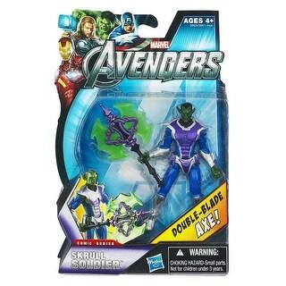 """Marvel Avengers Comic Series 3.75"""" Action Figure: Skrull Soldier"""
