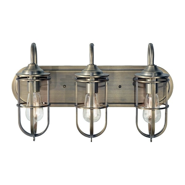 Shop Feiss Vs36003 Urban Renewal 3 Light Bathroom Vanity Light