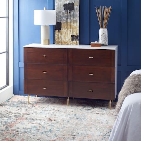 SAFAVIEH Genevieve 6 Drawer Dresser