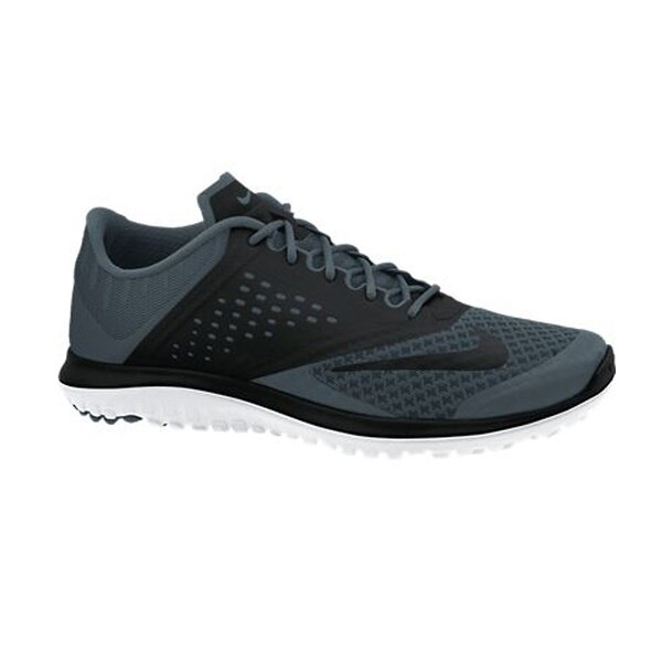 Men's Nike FS Lite Run 2 Running Shoe Grey/Black/