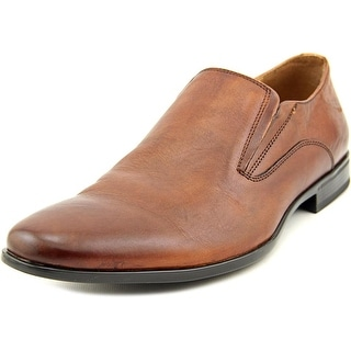 Aldo Kazon Men Square Toe Leather Tan Loafer