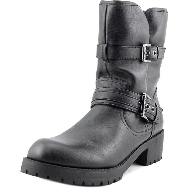 G By Guess Minion 2 Women Round Toe Synthetic Mid Calf Boot