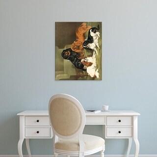 Easy Art Prints Vero Shaw's 'Toy Spaniels' Premium Canvas Art