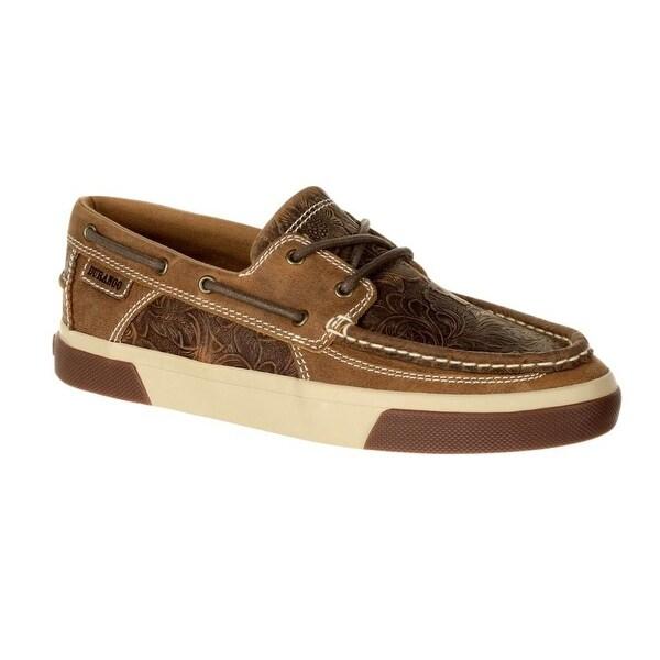 Durango Casual Shoes Womens Moc Music City Rubber Sandstone