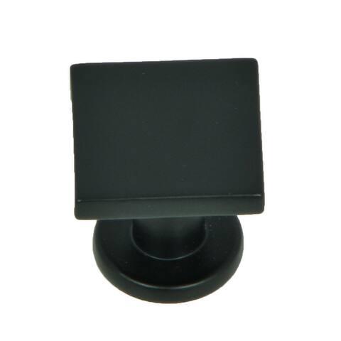 Stone Mill Hardware - Matte Black SoHo Cabinet Knobs (Pack of 25)