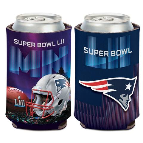 New England Patriots Super Bowl LII Bound 12oz. Can Cooler