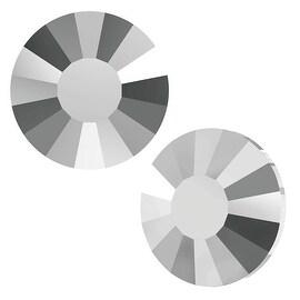 Swarovski Elements Crystal, Low Profile Round Flatback Rhinestone Hotfix SS10 3mm, 36 Pieces, Crystal Light C