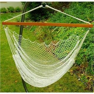 Algoma 8987 Nylon Net Hanging Chair Outdoor Hammock