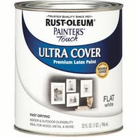 RustOleum Flat White Latex Paint