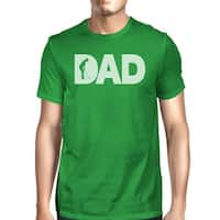 Dad Golf 1 Green Graphic T-shirt For Men Funny Golf Gifts For Dad