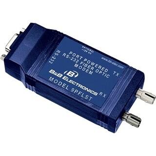 IMC 9PFLST B&B 9 PIN 232 FO MODEM W/HANDSHAKE - 2 x ST Ports - Multi-mode - Rail-mountable, Panel-mountable