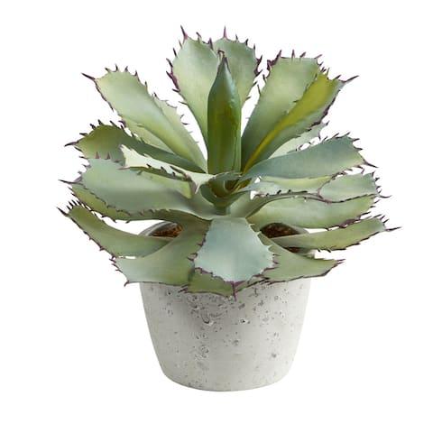 """11"""" Succulent Artificial Plant - 4"""""""